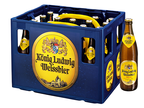 König Ludwig Weißbier Hell 20x0,5 l