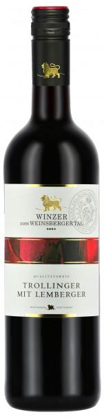 Winzer vom Weinsberger Tal Trollinger mit Lemberger Qba 0.75 l