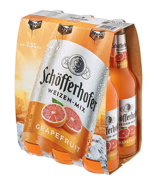 Schöfferhofer Grapefruit 6x0,33 L