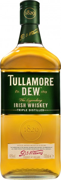 Tullamore D.E.W. Triple Distilled Irish Wiskey 0,7 l