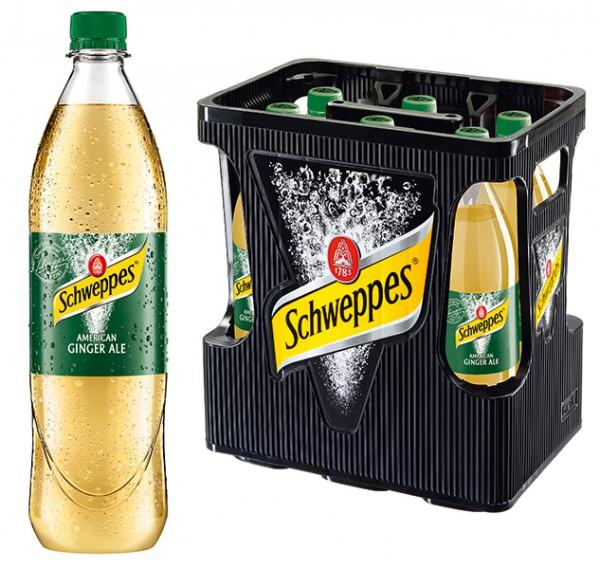 Schweppes Ginger Ale 6x1,0 l