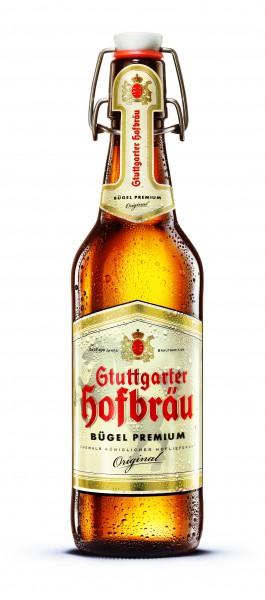 Stuttgarter Hofbräu Premium Bügel 20x0,5 l