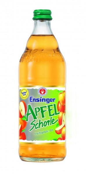 Ensinger Apfel-Schorle 12x0,5l Glas