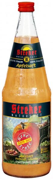 Streker Apfelsaft trüb Neue Ernte ( Saison Produkt ) 6x1,0 l