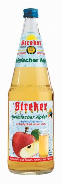 Streker Apfelsaft Schorle 6x1,0 l
