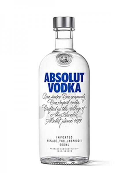 Absolut Wodka 40% 0,5 l
