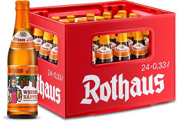 Rothaus Hefeweizen 24x0,33 l