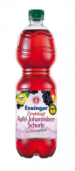 Ensinger Direktsaft Apfel-Johannisbeer-Schorle 9x1,0 l