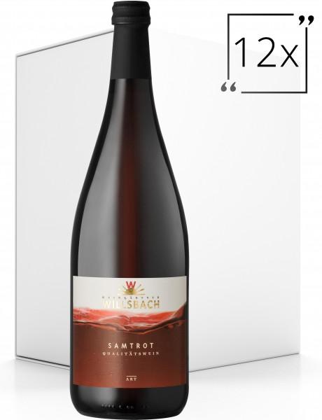 Weinhaus Willsbach Samtrot Qba. 12x1.0 l