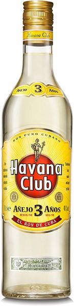 Havana Club 3 Anos Rum weiß 40 % Vol. 0,7 l