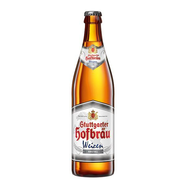 Stuttgarter Hofbräu Weizen Kristall 20x0.5 l