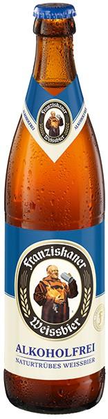 Franziskaner Weissbier Alkoholfrei Naturtrüb 20x0.5l