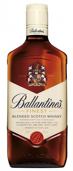 Ballantines Finest Blended Scotch Whisky 0,7 l
