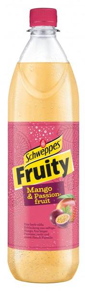Schweppes Fruity Herb-Süss Mango & Passionsfrucht 6x1,0 l