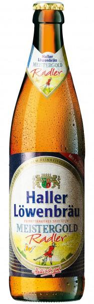 Haller Löwenbräu Meistergold Radler 20x0.5 l